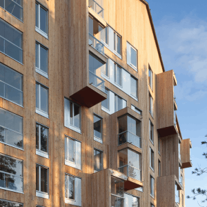 Siparila topcoat wood cladding, Puukuokka