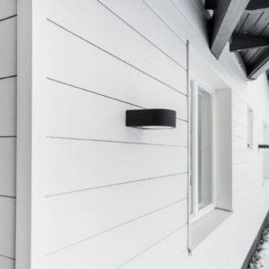 Välimaalattu ulkonurkkalista 48x48mm, sävy: valkoinen