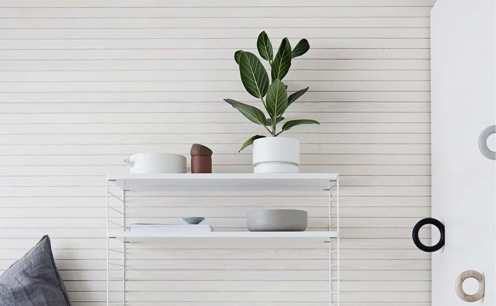 Siparila KOOdesign-sisustuspaneeli,valkoinen