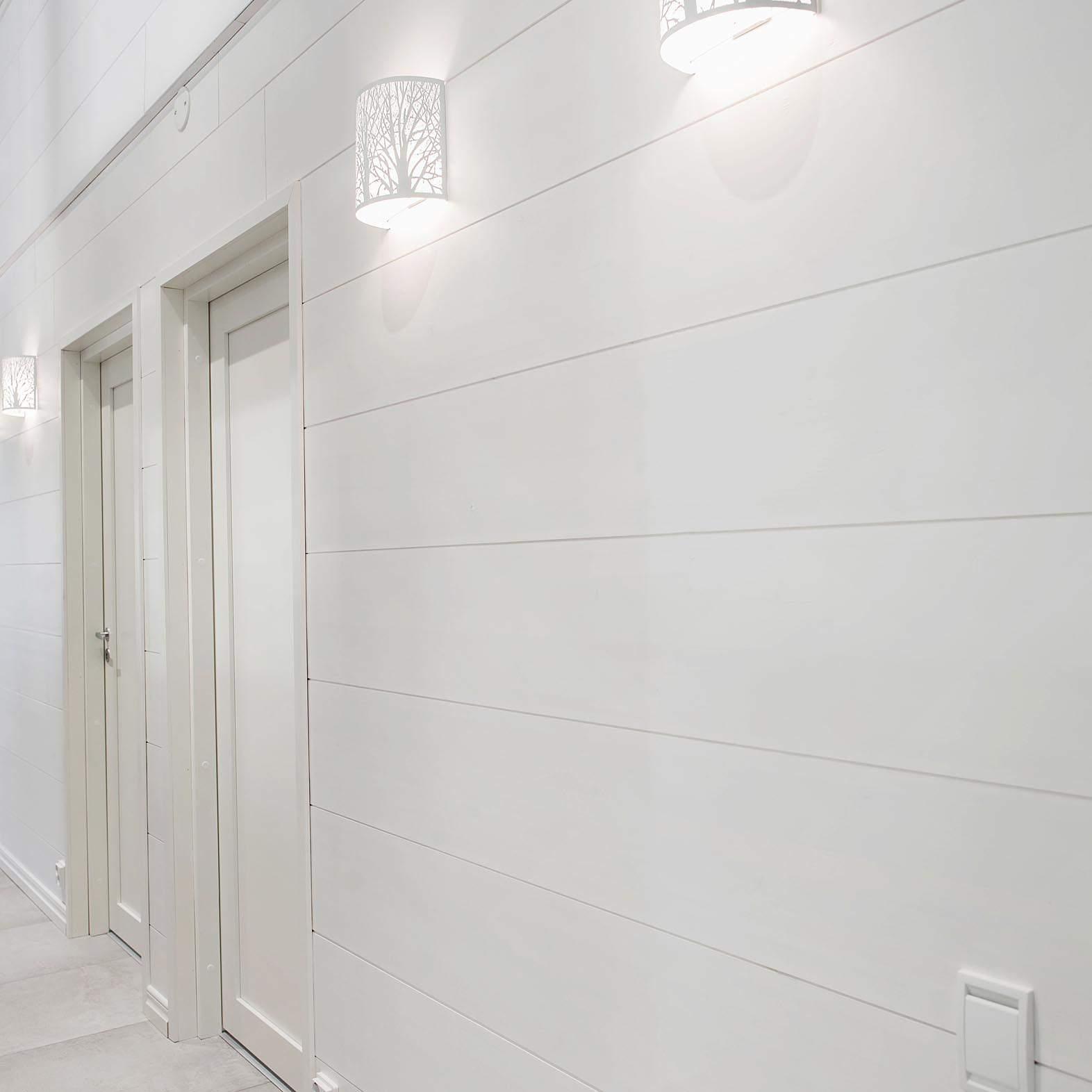 Siparila AITO-sisustuslevy 12x280, valkoinen, Vesanka