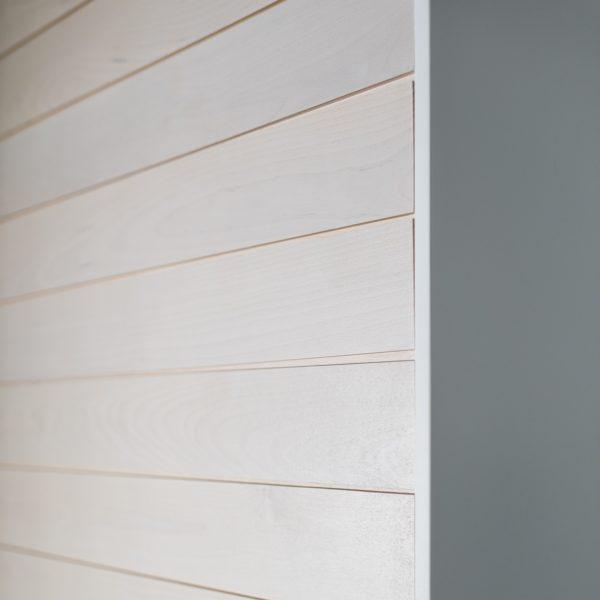 KOO decorative panel, translucent white birch