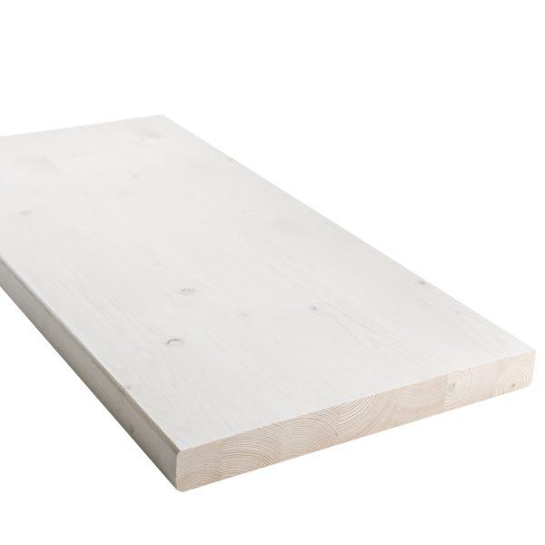 sauna bench board, white