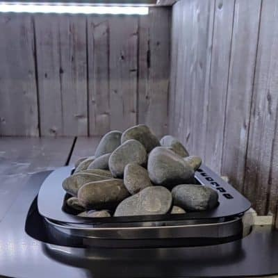 Moderni sauna kiuas