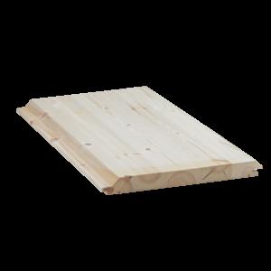 Hirsipaneeli 32x345 mm, sävy: käsittelemätön mänty